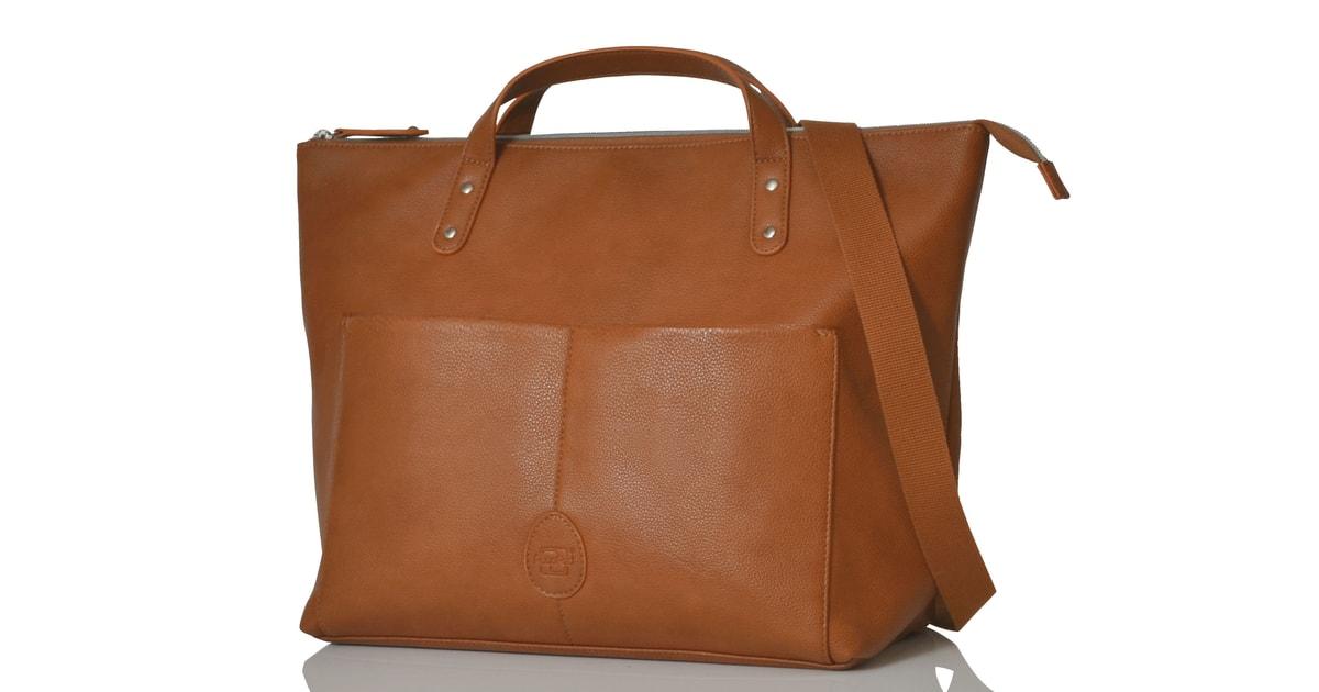 SAUNTON hnědá - přebalovací taška 5ee4705bf30