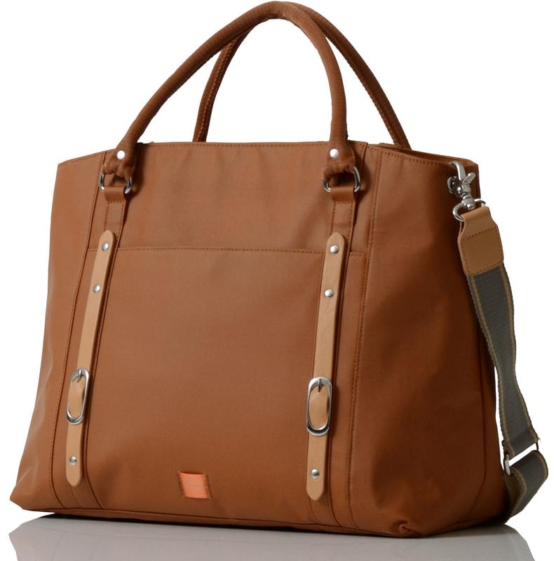 MIRANO světle hnědá - kabelka i přebalovací taška - PacaPod ... 3b7b076c8e3