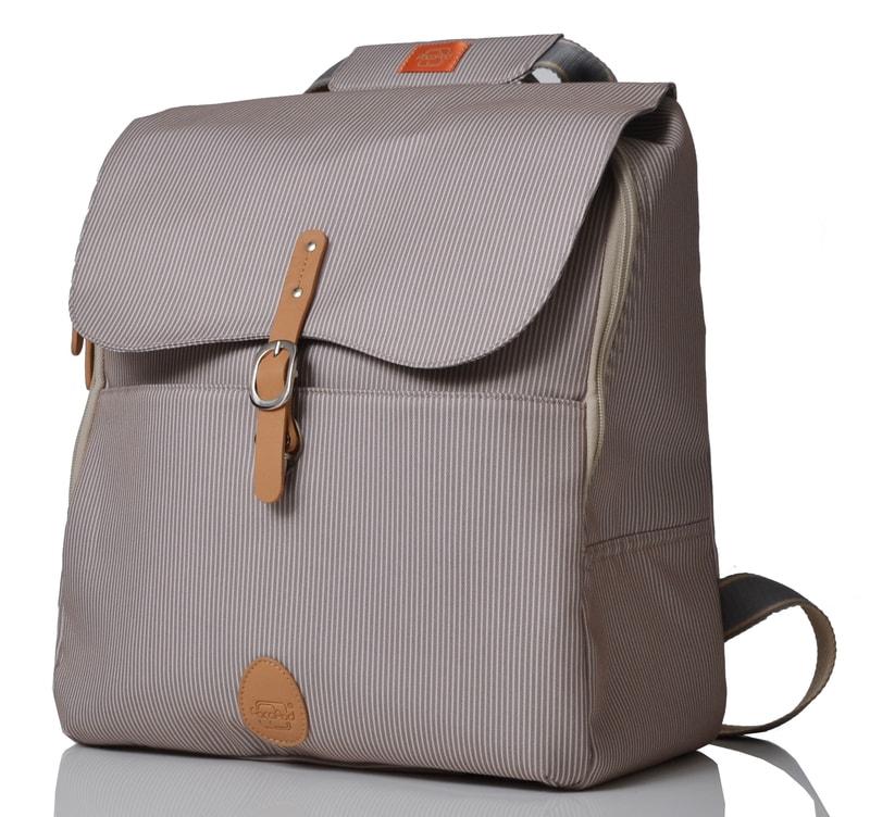 HASTINGS šedobéžový - batoh i přebalovací taška - PacaPod ... bc5e65007f