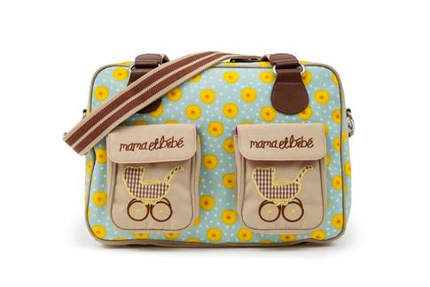 Pink Lining MAMA ET BEBE slunečnice - přebalovací taška