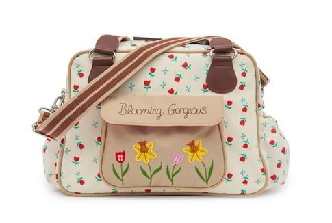 Pink Lining BLOOMING GORGEOUS tulipány - přebalovací taška