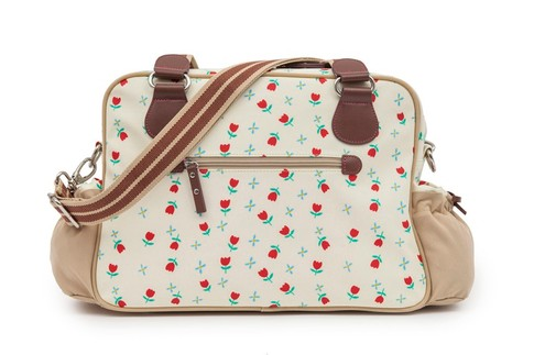 Pink Lining NOT SO PLANE JANE tulipány - přebalovací taška