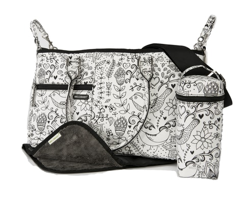 Melotote LOVE black and white