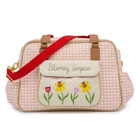 Pink Lining BLOOMING GORGEOUS love - přebalovací taška