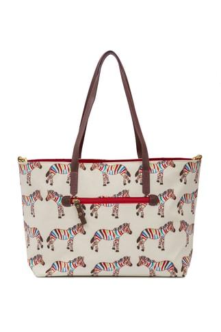 Pink Lining NOTTING HILL zebry - kabelka i přebalovací taška