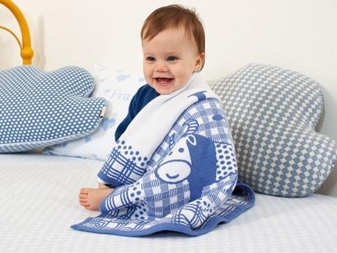 Martello Dětská deka zvěrokruh s údaji o miminku